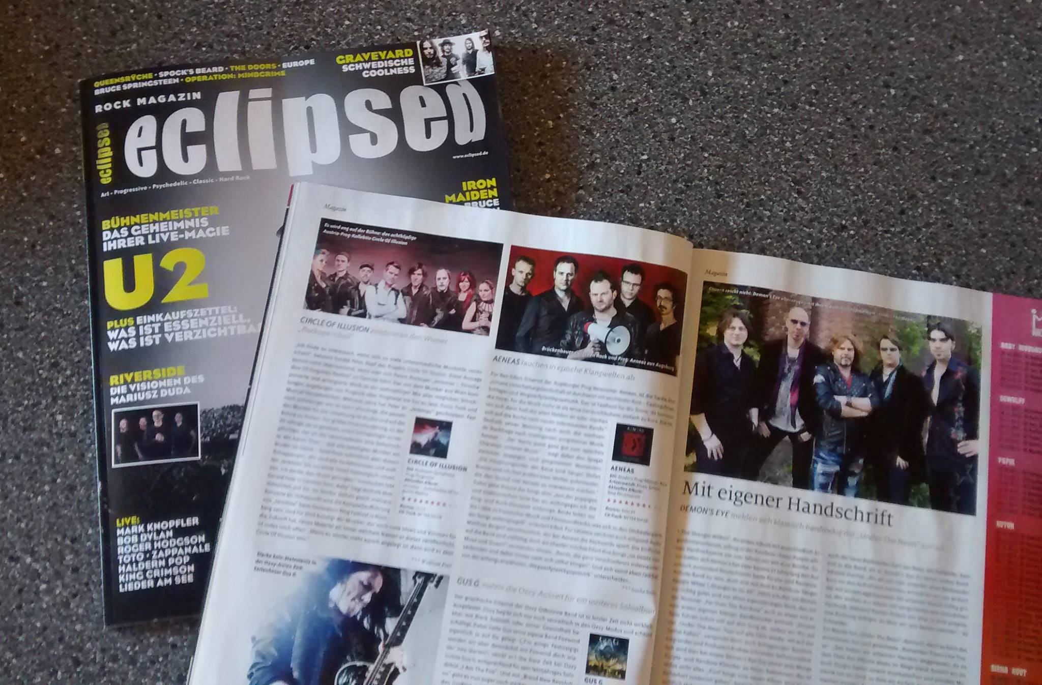 New Renaissance im Musikmagazin Eclipsed